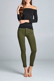 Simply Chic Basic Stretch Pants - Front full body