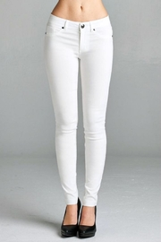 Simply Chic Basic Stretch Pants - Front cropped