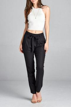 Shoptiques Product: Black Linen Pants