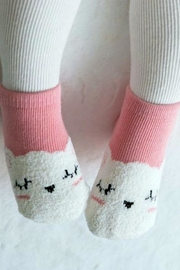 Simply Chic Cozy Cat Socks - Product Mini Image