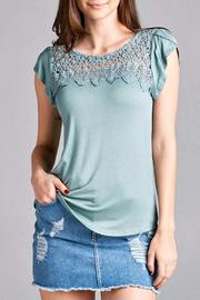 Simply Chic Crochet Top - Product Mini Image