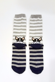 Simply Chic French Bulldog Socks - Product Mini Image