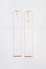 Simply Chic Gold Bar Necklace - Other