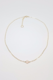 Simply Chic Gold Opal Necklace - Product Mini Image