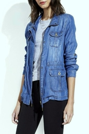 Simply Chic Lightweight Denim Jacket - Product Mini Image