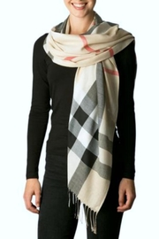 Simply Chic Plaid Scarf - Product Mini Image