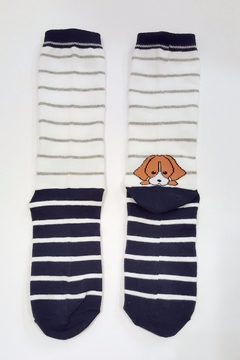 Simply Chic Puppy Socks - Alternate List Image