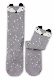 Simply Chic Racoon Knee Socks - Front cropped