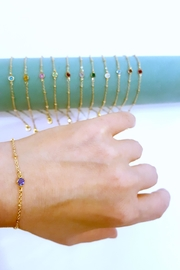 Simply Chic Swarovski-Crystal Birthstone Bracelet - Product Mini Image
