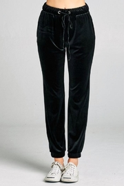Simply Chic Velvet Jogger Pant - Product Mini Image