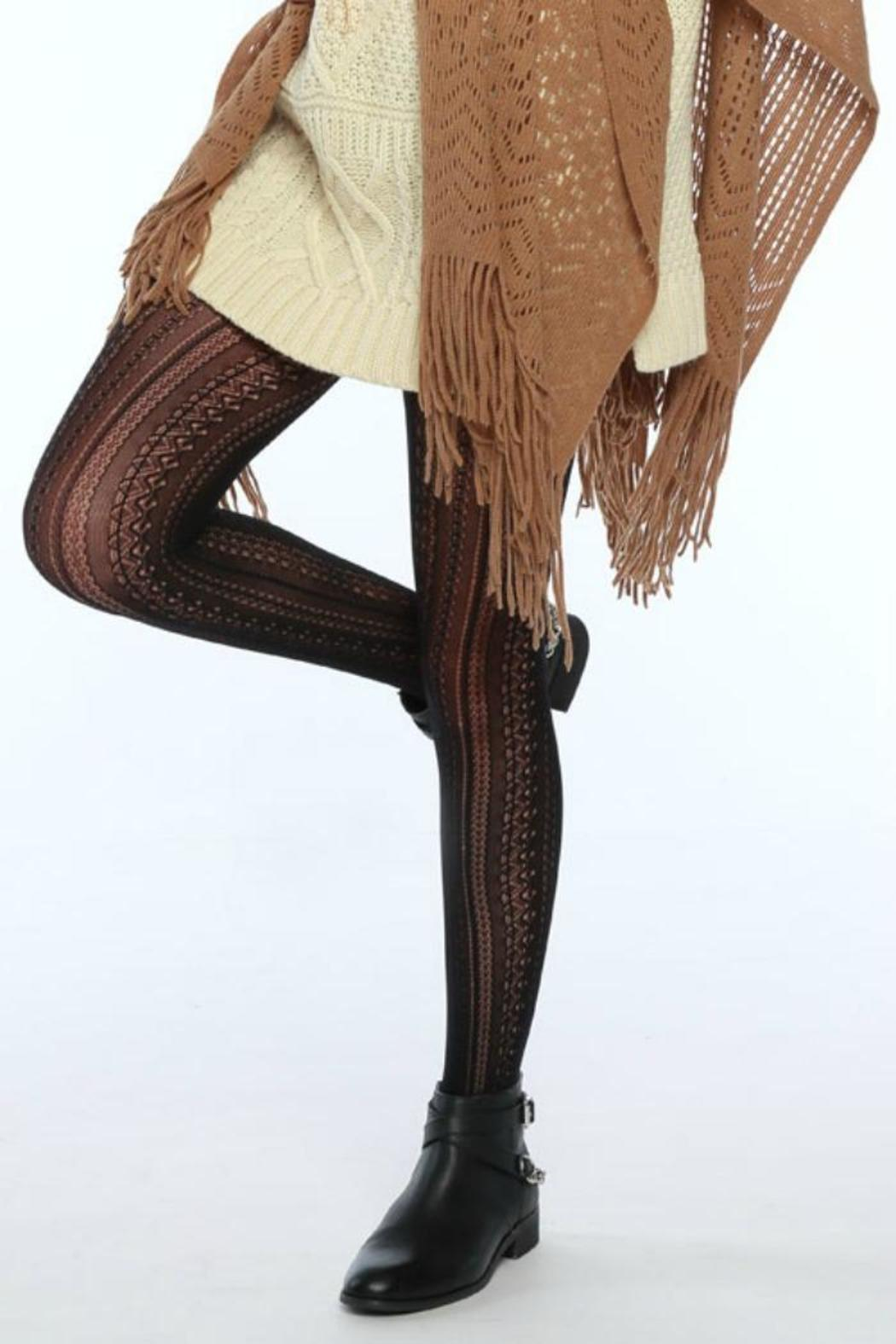 Simply dena lace knit stockings from colorado shoptiques for Simply stockings