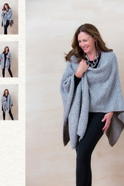 Simply Natural Alpaca Wrap - Front cropped