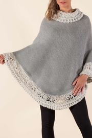 Simply Natural Petra Poncho - Front cropped