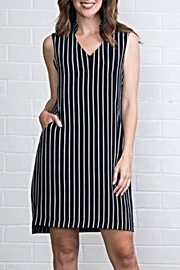 Simply Noelle Pinstripe Dress - Product Mini Image