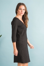 Simply Noelle Black Lace Dress - Front full body