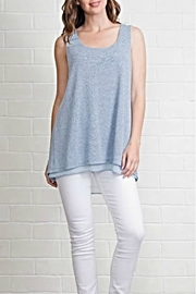 Simply Noelle Blue Detailed Tank - Product Mini Image