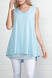Simply Noelle Blue Layered Tank - Product Mini Image