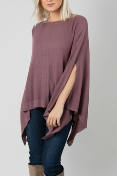 Simply Noelle Boat Neck Poncho - Product List Image