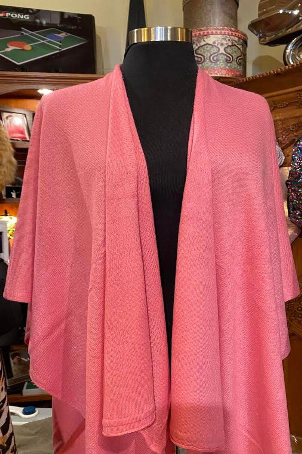 Simply Noelle Bright Pink Shawl - Main Image