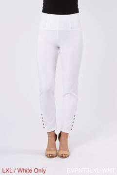 Simply Noelle Button Ankle Pant - Alternate List Image