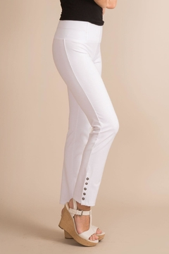Simply Noelle Button Ankle Pant - Product List Image