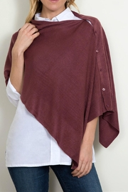 Simply Noelle Button Down Poncho - Product Mini Image