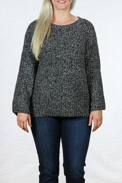 Simply Noelle Camper Sweater Poncho - Product List Image