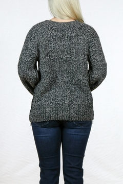 Simply Noelle Camper Sweater Poncho - Alternate List Image