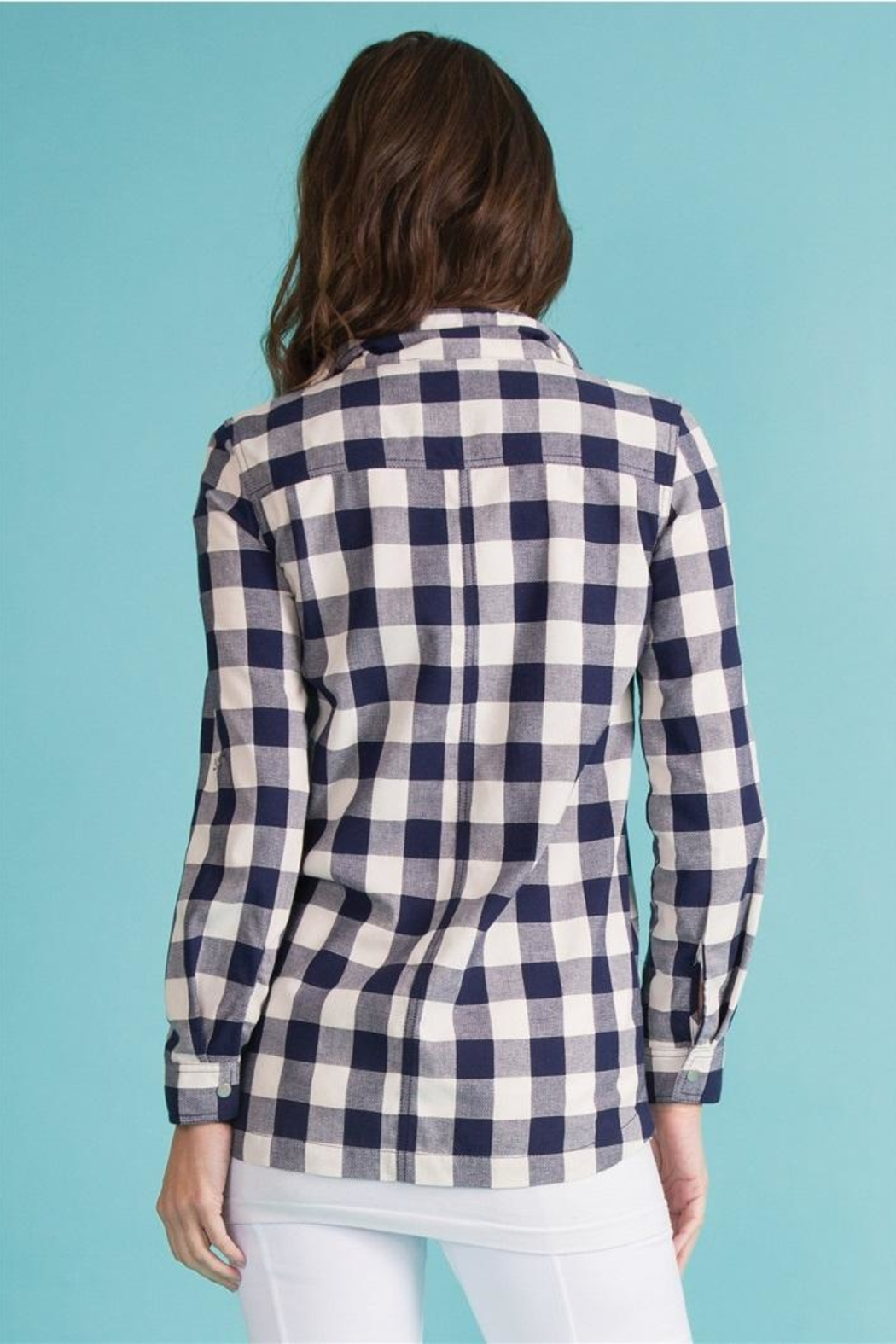Simply Noelle Checkmate Jacket - Side Cropped Image