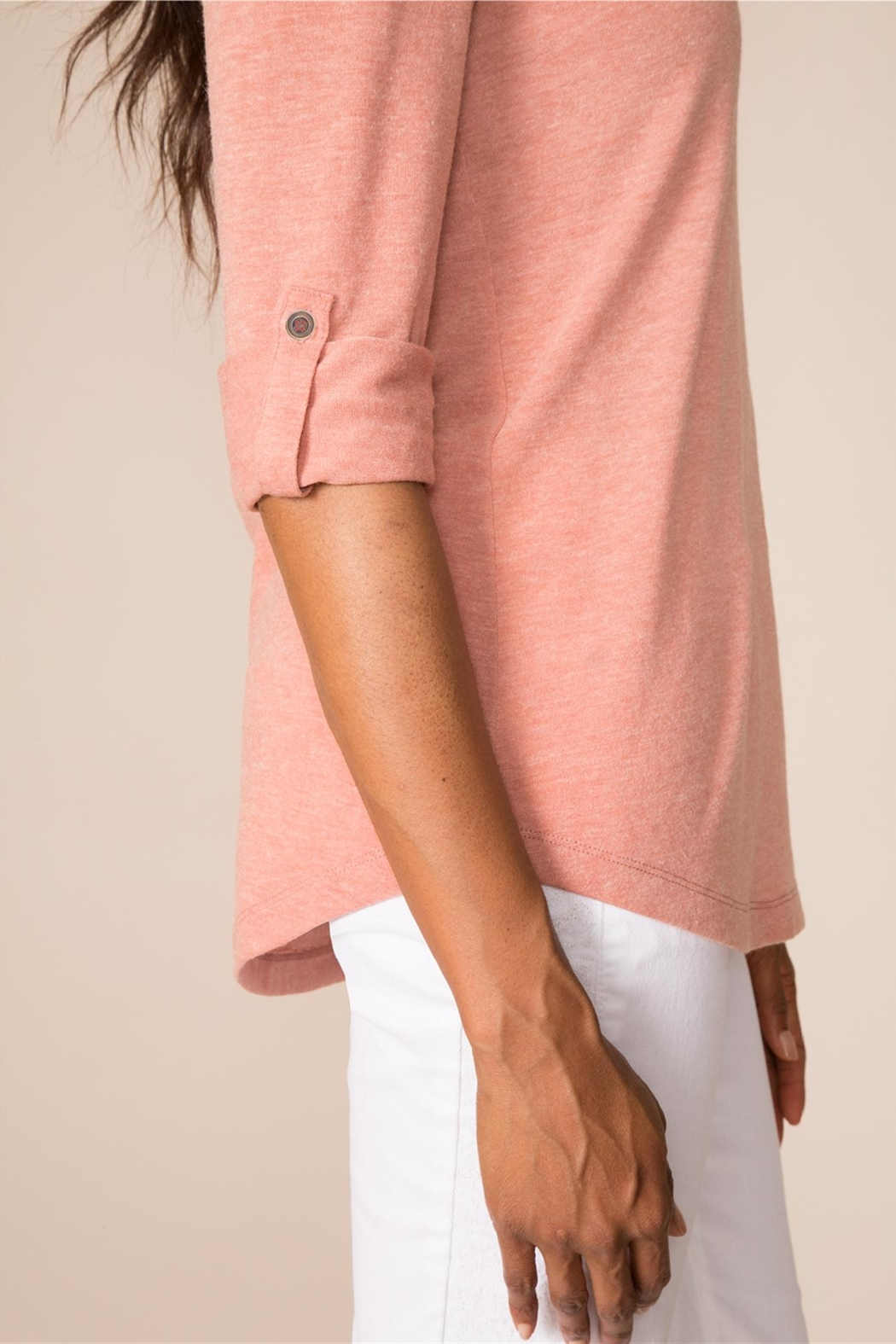 Simply Noelle Crisscross Back Top - Back Cropped Image