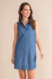 Simply Noelle Denim Convertible Dress - Product Mini Image