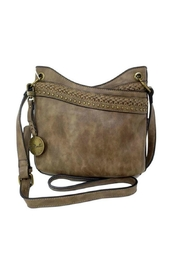 Simply Noelle Distressed Look Handbag - Front cropped