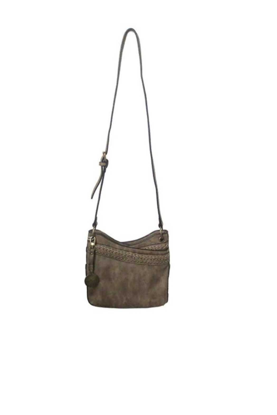 Simply Noelle Distressed Look Handbag - Side Cropped Image