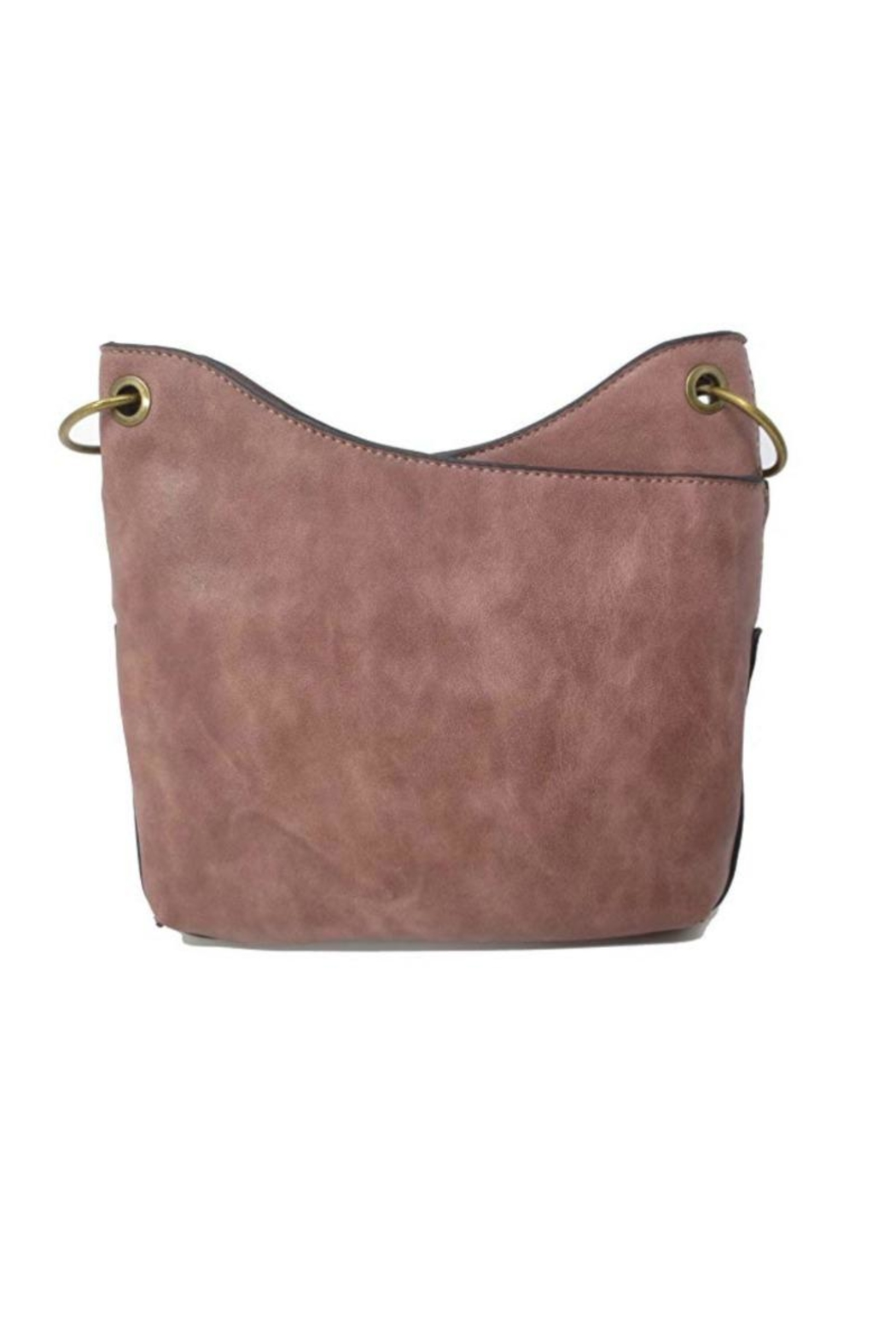 Simply Noelle Distressed Look Handbag - Front Full Image