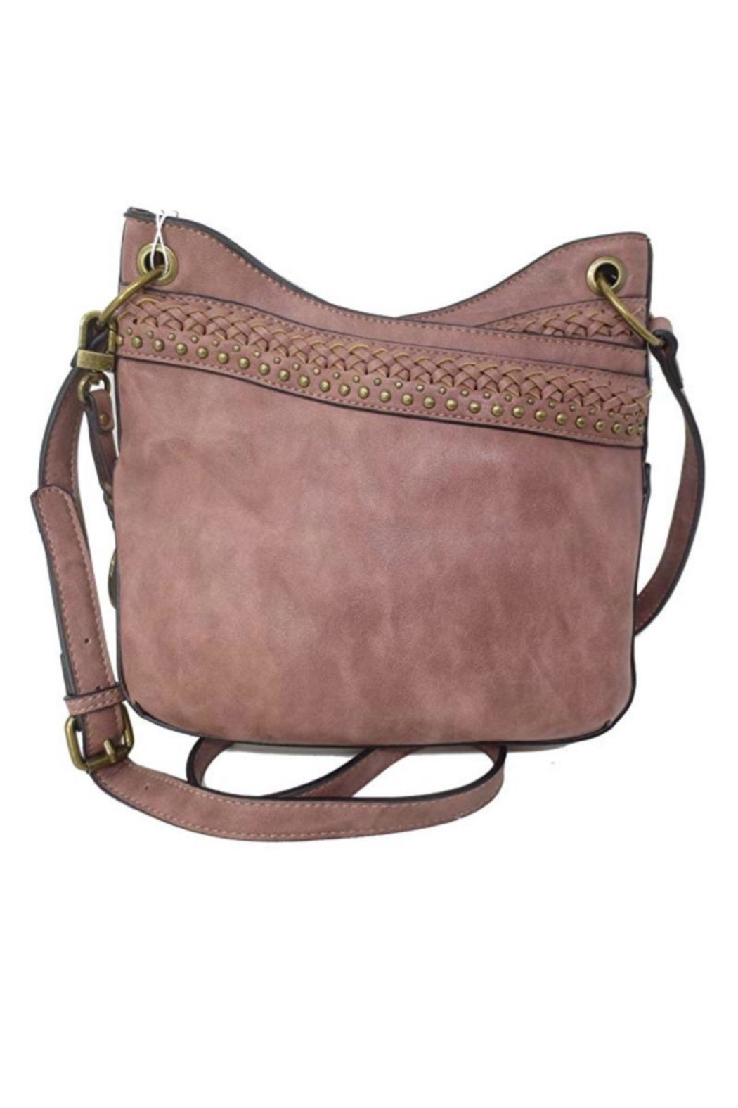 Simply Noelle Distressed Look Handbag - Front Cropped Image
