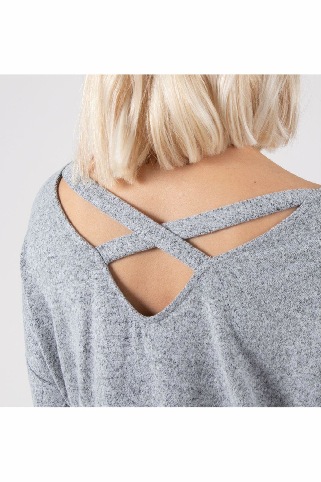 Simply Noelle Easy Day Tunic - Back Cropped Image