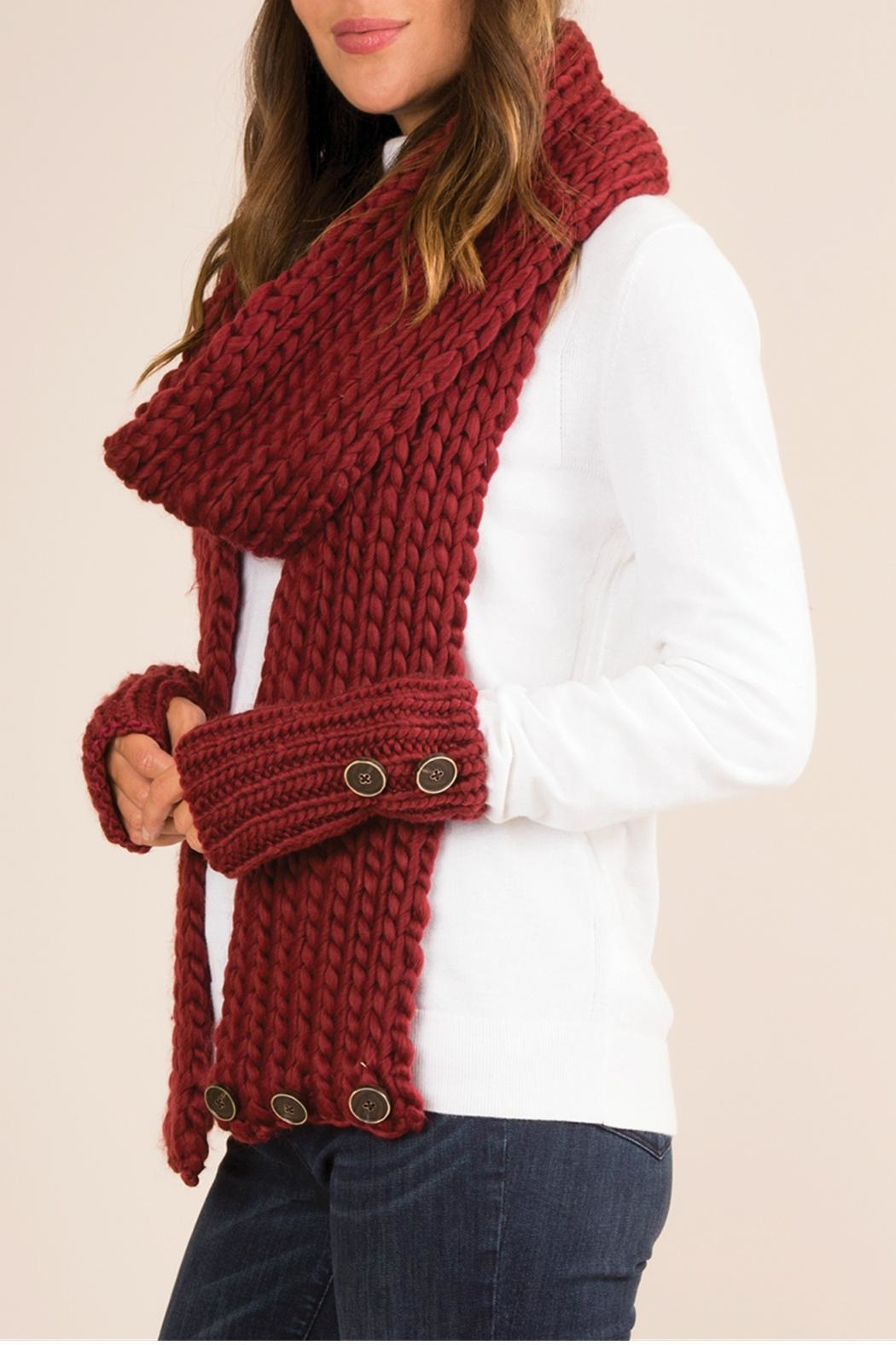 Simply Noelle Fireside Convertible Scarf - Side Cropped Image