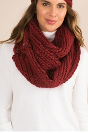 Simply Noelle Fireside Convertible Scarf - Front full body