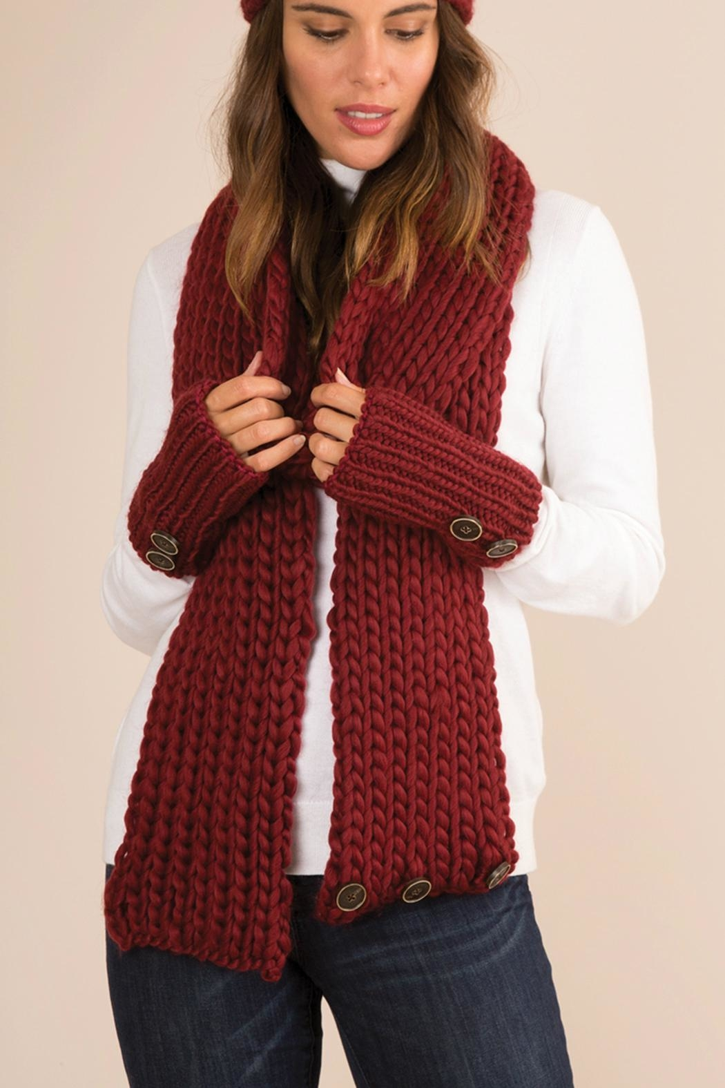 Simply Noelle Fireside Convertible Scarf - Main Image
