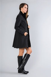 Simply Noelle Fit-And-Flare Rain Coat - Back cropped
