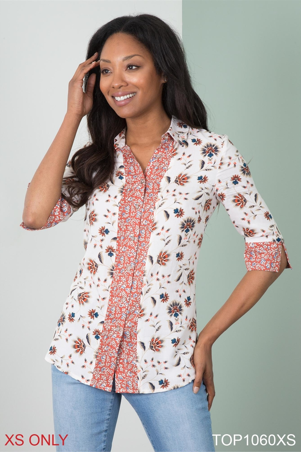 Simply Noelle Floral Blouse - Main Image