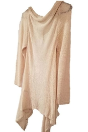 Simply Noelle Fringe Cardigan - Front cropped
