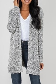 Simply Noelle Hooded Cardigan - Product Mini Image