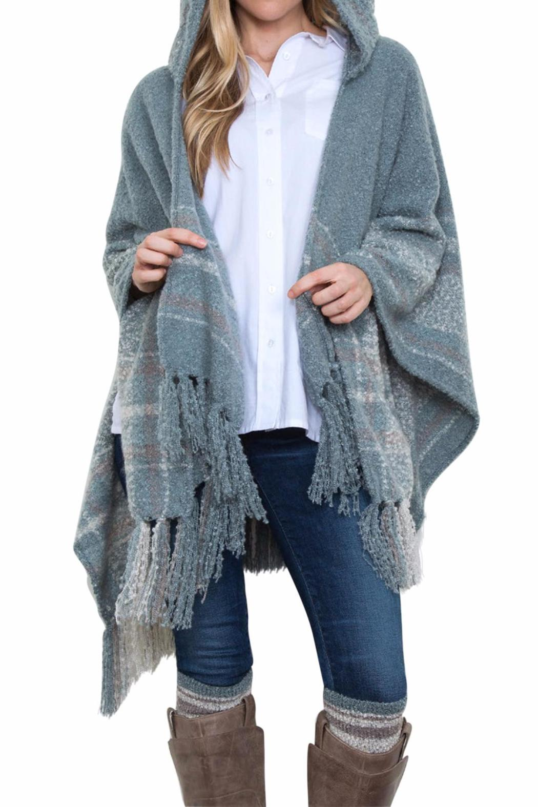3411fa6332e1 Simply Noelle Hooded Cozy Wrap from Ohio by Owl Eyes on You — Shoptiques