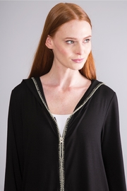 Simply Noelle Hooded Lightweight Jacket - Back cropped