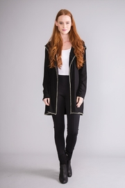 Simply Noelle Hooded Lightweight Jacket - Front cropped