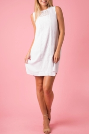 Simply Noelle Lace Shift Dress - Product Mini Image