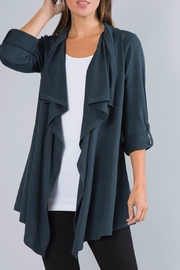 Simply Noelle Open Crossover Cardigan - Product Mini Image
