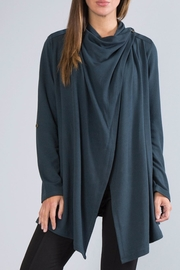 Simply Noelle Open Crossover Cardigan - Back cropped