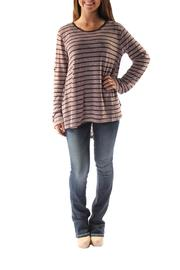 Simply Noelle Oversized Chocolate Tunic - Product Mini Image